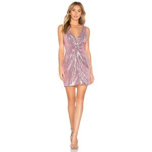 Dresses & Skirts - About Us Becky Sequin Twist Knot Mini Dress
